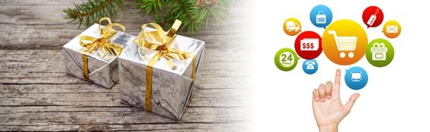 Achat des cadeaux de Noël sur Internet