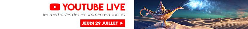 YouTUBE Live E-commerce