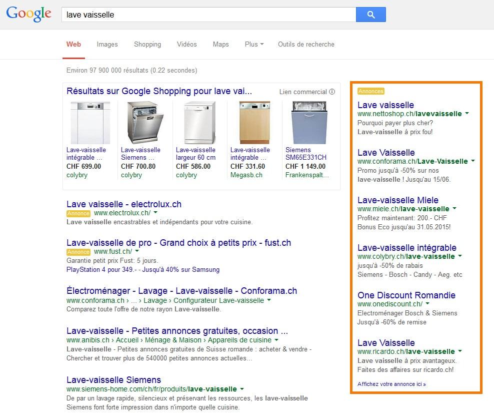 google annonces gratuites