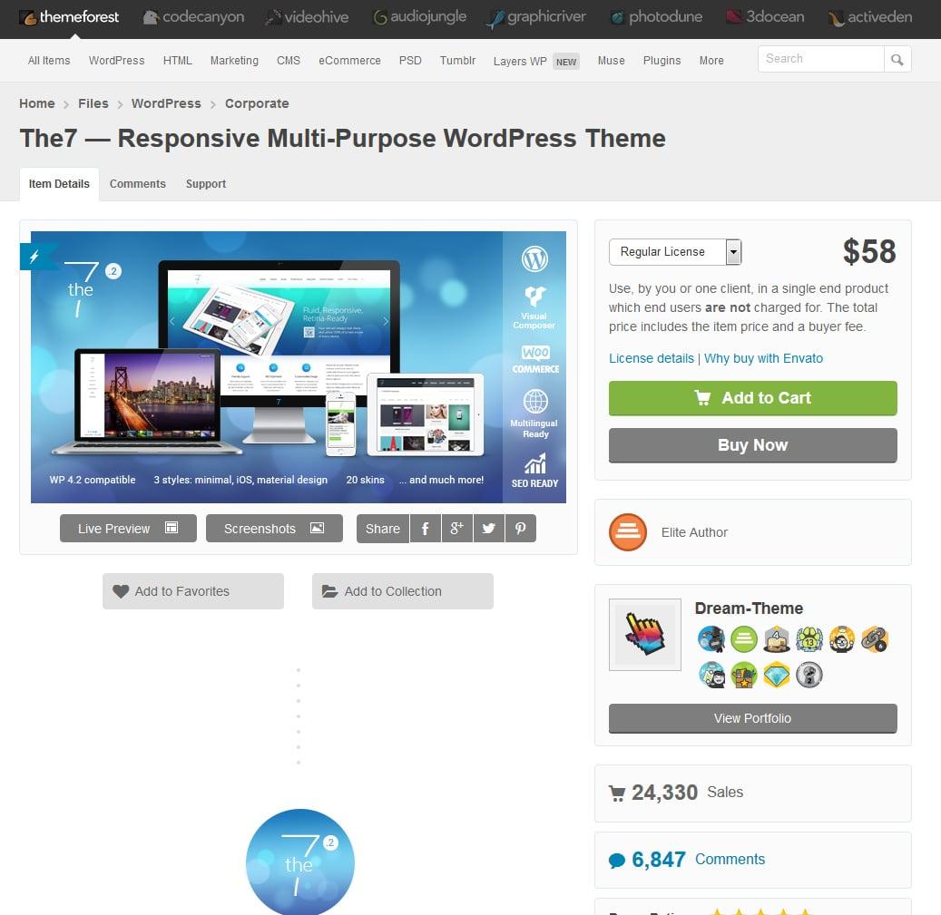 rencontres WordPress ThemeForest