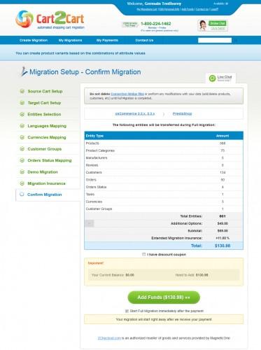 Finalement un prix pas cher, pour avoir déjà tenté de faire des migration à la main...