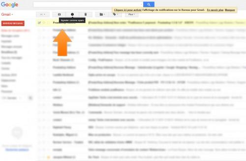 """Si trop de clients vous signalent comment """"SPAM"""", vous pouvez-être ensuite être considéré comme """"SPAMMER"""" et ne plus avoir vos mails relayés correctement."""