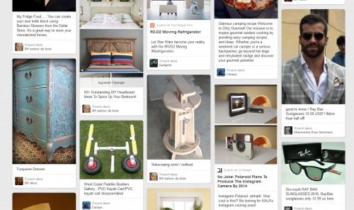Sur Pinterest, la clientèle sera potentiellement plus dans une logique d'achat / d'inspiration, que sur Facebook où là les gens sont plutôt pour se retrouver entre proches.