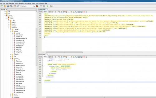 Le fichier product.tpl contient presque 3 x moins de code que la version Prestashop 1.6 on cherche la simplification et c'est très bien.