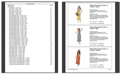 Le catalogue PDF c'est pratique, car c'est portable, mais le rendre feuilletable est-ce que ça servirait vraiment au client ? Peut-être si celui-ci est ensuite remanié avec un logiciel du type PDF Editor.