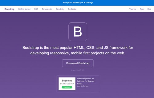 Il faut maîtriser un minimum les conventions de codage HTML de boostrap pour que votre contenu puisse se positionner et s'afficher correctement.