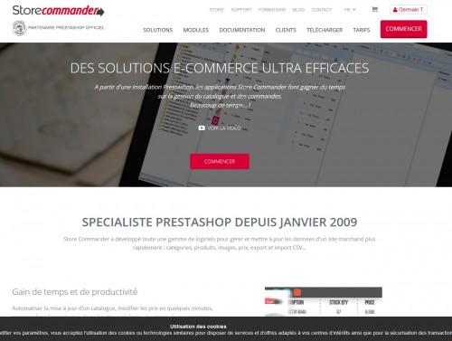 Store Commander reste l'outil le plus populaire sous Prestashop pour la gestion rapide de produits.