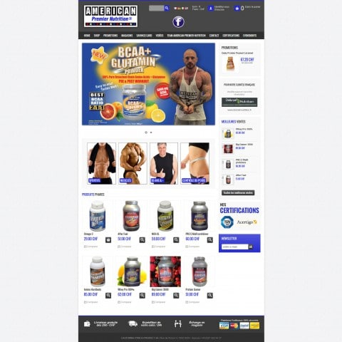 California Fitness Products