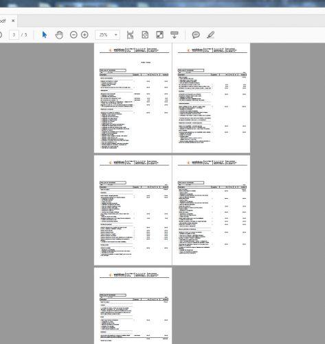 Selon mon expérience, 5 pages c'est pas énorme, mais ça suffit comme niveau de détail pour le client.