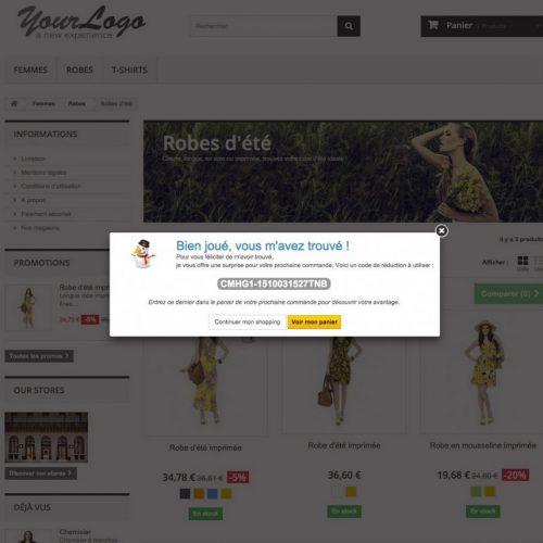 Cadeau e-commerce réduction