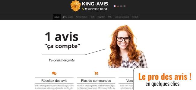 Récoltez des avis gratuitement avec King-Avis