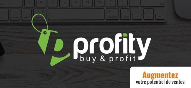 Avec Profity soyez visible grâce à d'autres shops e-commerce