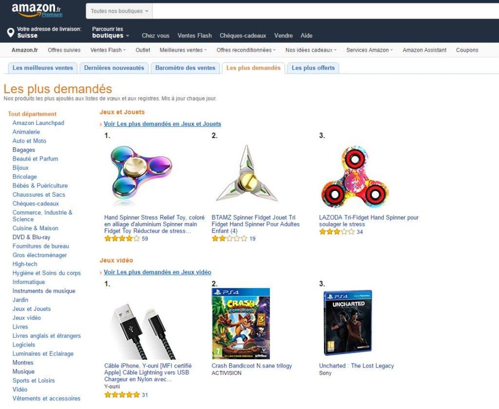 Spinner Amazon
