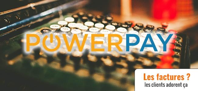 Powerpay le paiement via facture pour Prestashop