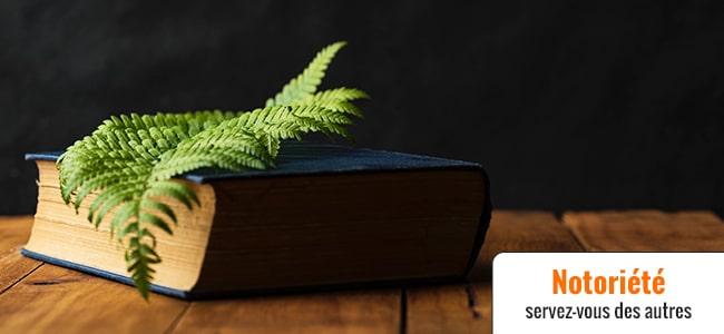 Utiliser le nom d'un livre pour se positionner en SEO