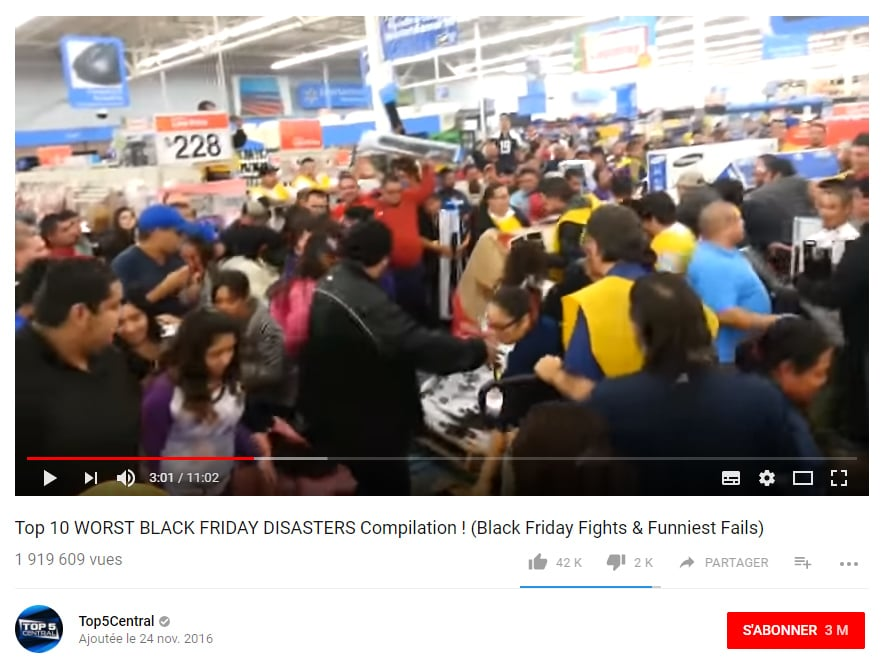 Black Friday fou