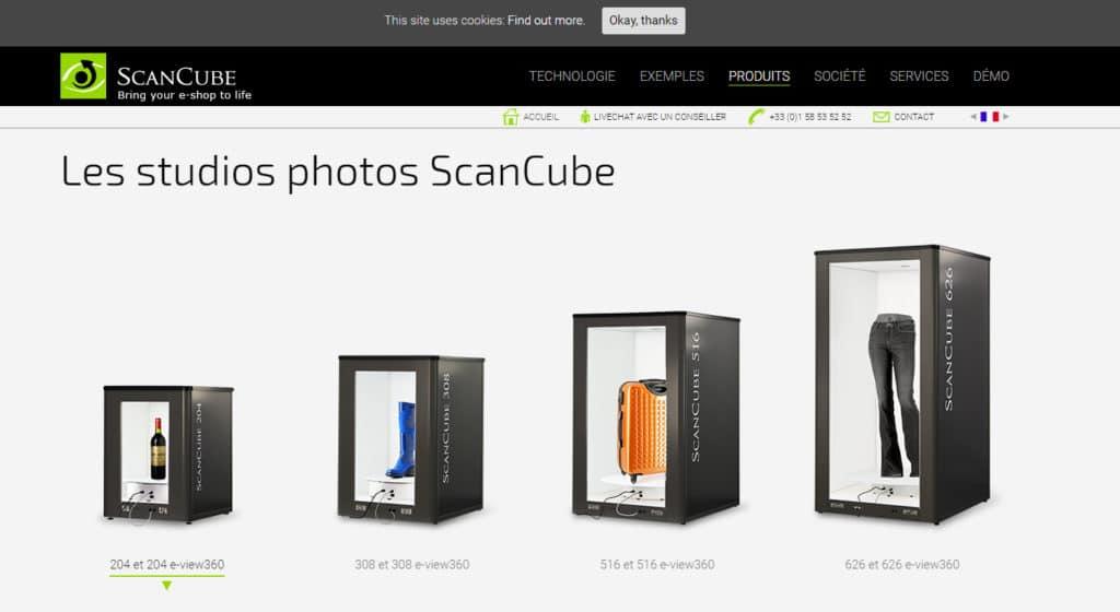 Studios scancube