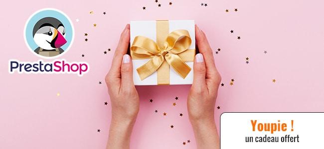 Offrir cadeau Prestashop