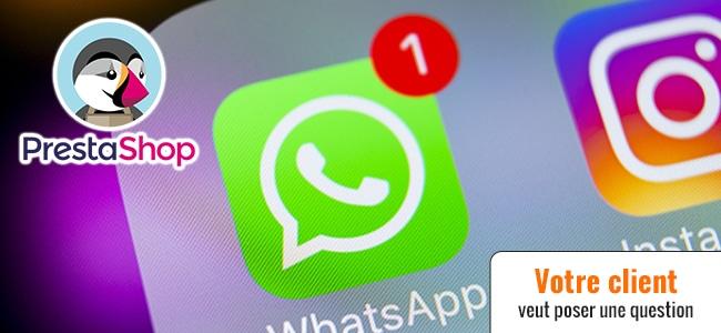 Prestashop avec Whatsapp fait bim bam boum (ép. 95)