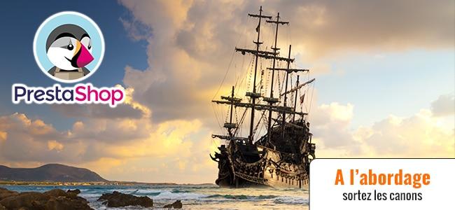 Quand les pirates des Caraïbes mettent le feu à Prestashop (ép. 108)