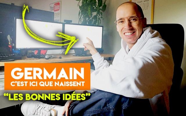 Germain Tenthorey au bureau