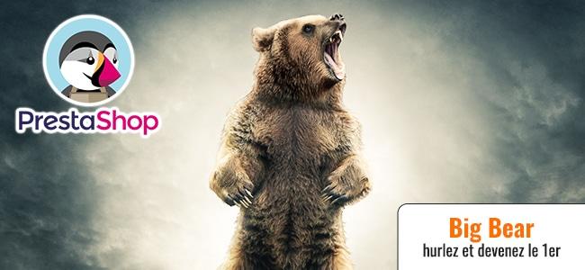 BIG BEAR hurle ! Votre Prestashop se classe en 1er (ép. 67)