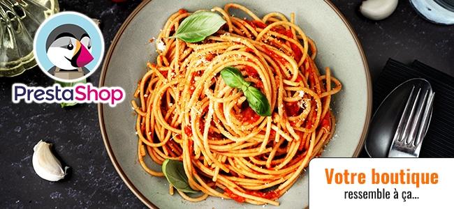 Prestashop et le fabuleux plat de spaghettis (ép. 69)