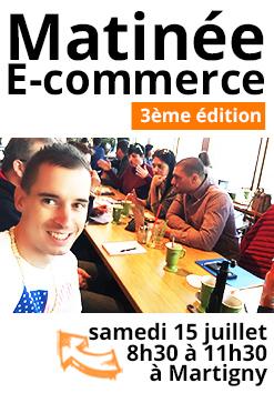 Participez à la matinée du e-commerce, le 15 juillet à Martigny !